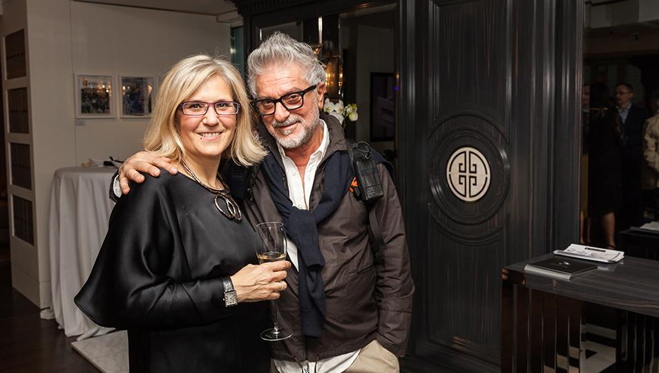 Abbiamo avuto il piacere di avere tra i nostri ospiti Bruno Palmegiani, star internazionale dell'Eyewear Design e soprattutto amico.